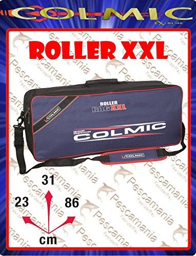 Borsa Colmic Extreme Roller XXL imbottita porta accessori rulli portacanne