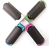 Portable Folding Hair Brush with Mirror, Compact Pocket Hair Comb for Travel Gift(Pack of 4)