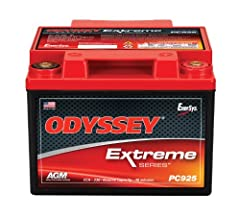 Cold Crank Amp (CCA)- 330 Better warranty: Limited 3 and 4 year full replacement warranty - not pro rata Longer service life: With 3-10 years of service life, ODYSSEY batteries save consumers time, money, and aggravation Longer cycle life: 70 percent...
