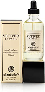 elizabethW Vetiver Body Oil - 4 Ounce