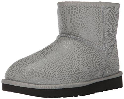 UGG® Boots model 1019637 CLASSIC MINI GLITZY - BLACK, Grey Violet, 38