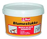 Rayt 305-81 Blumestukko Masilla en pasta tapagrietas, a base de resinas sintéticas. Rellenadora de agujeros y emplastecido de paredes, madera, cemento, yeso. Alisado de irregularidades. Interior750 gr