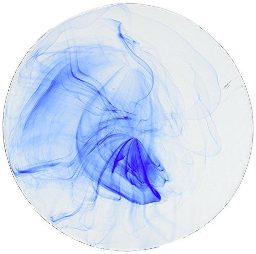 Bormioli Rocco Murano Marmorizzato Blu Cena di vetro piatto, set di 6