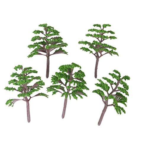 WINOMO Modèle des arbres 20pcs 1: 150-200 paysage paysage (vert)