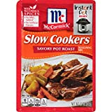 McCormick Slow Cookers Savory Pot Roast Seasoning Mix, 1.3 oz