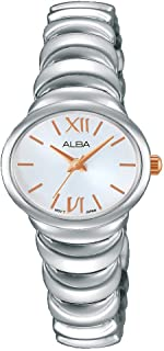Alba Watch for Women, Analog, Stainless Steel - AH8319X