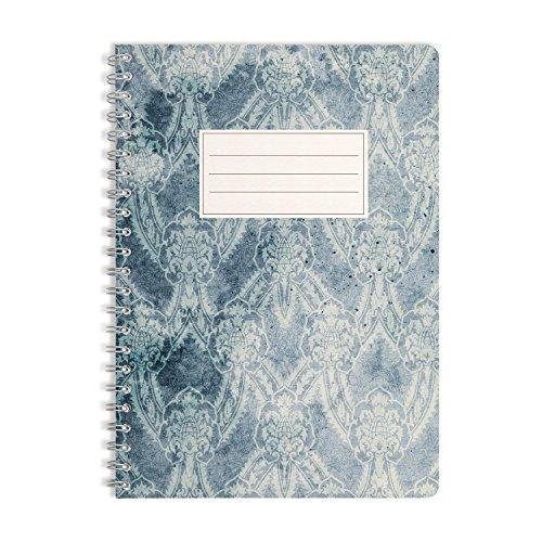 WIREBOOKS Notizbuch | Notizblock | Notizheft | Spiralblock 5040 DIN A5 120 Seiten 100g Papier blanko