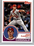 2018 Topps Update and Highlights Baseball Series 1983 Topps 35th #83-37 Jack Flaherty St. Louis Cardinals Rookie RC Official MLB Trading Card. rookie card picture