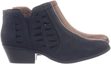 SODA Woman's 'Chance' Cut Out Ankle Bootie