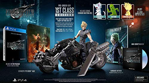 Square Enix Final Fantasy VII Remake Play Arts Kai Cloud Strife