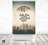 ERSATZ KLEINE Wolke Duschrollo für Leerkassette Happy Soul Textil Badewanne