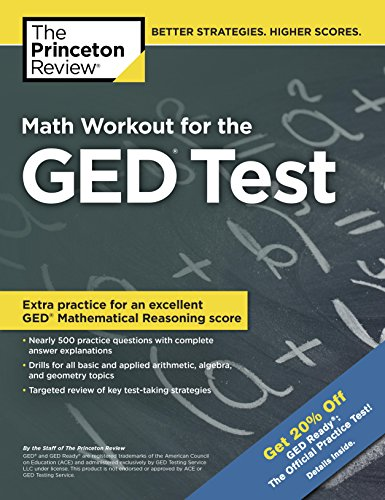 Math Workout for the GED Test (College Test Preparation)