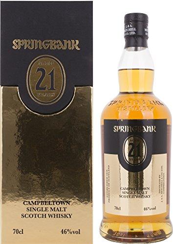 Springbank 21 Years Old Campbeltown Single Malt Scotch Whisky (1 x 0.7 l)