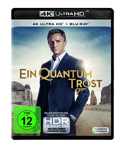 James Bond - Ein Quantum Trost  (4K Ultra HD) (+ Blu-ray 2D)