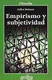 Empirismo y subjetividad