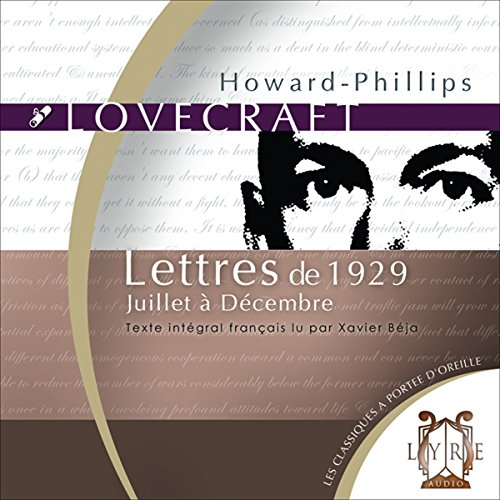 Lettres de 1929, Juillet à Décembre audiobook cover art
