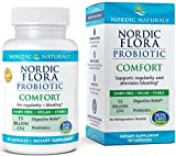 8. Nordic Naturals Flora Probiotic Comfort - Probiotic for Intestinal Health, For Those With Digestive Issues, 30 Capsules