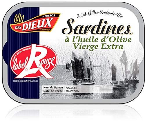 Sardynki w Extra Virgin Olive Oil Label Rouge, 115 g