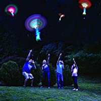 5-Pack 2022 Amazing LED Light Arrow Rocket Helicopter Flying Toy