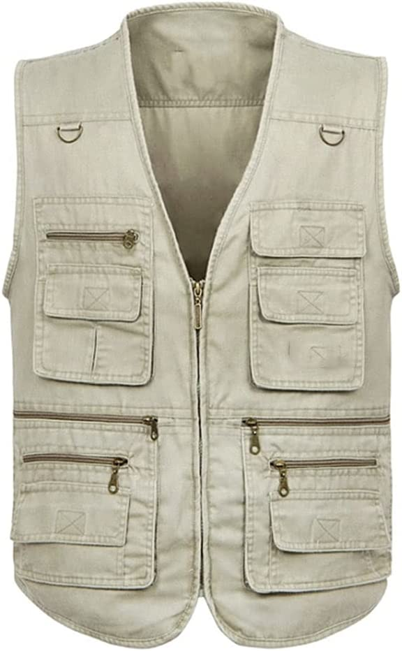 Fishing Cheap mail order specialty store Vests Phoenix Mall for Men Multi-Pocket Photography Vest