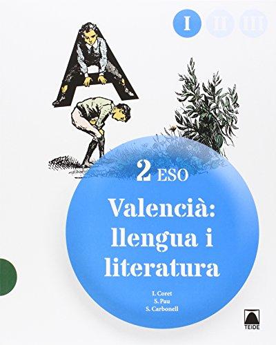 Valencià: llengua i literatura 2 ESO (tres llibres) - 9788430790876