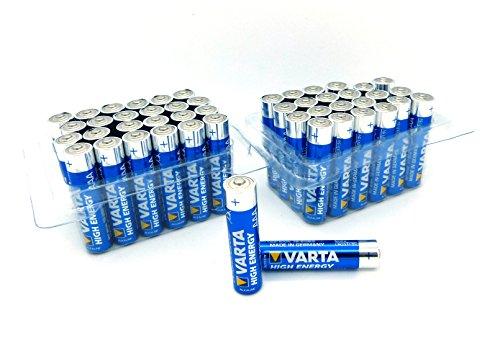 Varta 4903 2x/24x High Energy Mikro AAA Batterie Alkaline MN2400 Sonderpack Lr03