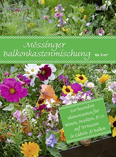 Samen Fetzer 96491 Mössinger Balkonkastenmischung für 3 m² (Blumenwiese)