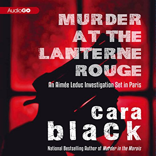 Murder at the Lanterne Rouge audiobook cover art