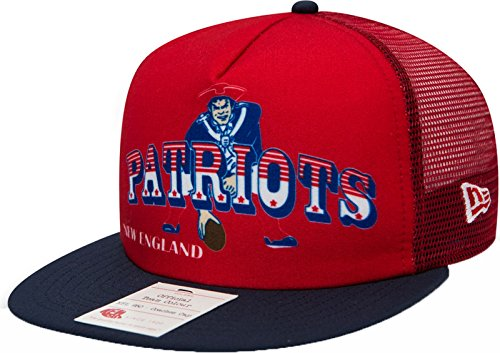 "NEW ERA NFL 9FIFTY TRUCKER CAP "" HERITAGE SERIES "" NEW ENGLAND PATRIOTS"