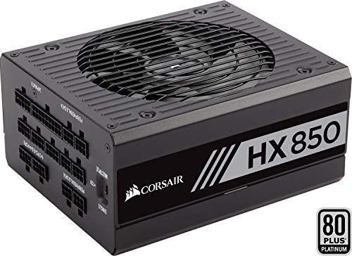 Corsair HX850 Alimentatore PC, Completamente Modulare, 80 Plus Platinum, 850 W, EU