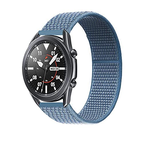 Correas de nailon de 22MM para Xiaomi Amazfit Pace Stratos 3 2 / 2S / GTR 47MM 2E pulsera de banda de reloj inteligente
