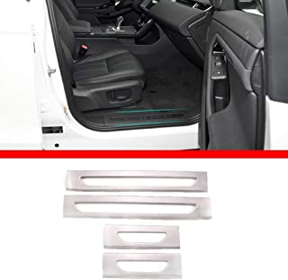 2020 2019 2 pezzi per RangeRover Velar 2017 Yiwang ABS cromato per pannello degli strumenti laterali 2018 accessori per auto