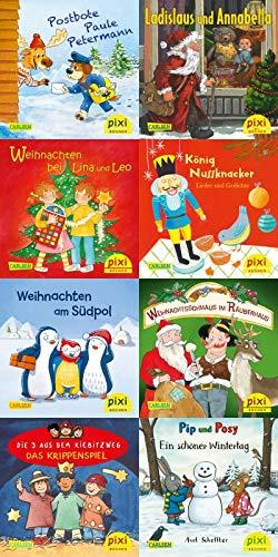 Pixi-Weihnachts-Box 34: ABC, Pixi lief im Schnee (8x8 Exemplare) (34)