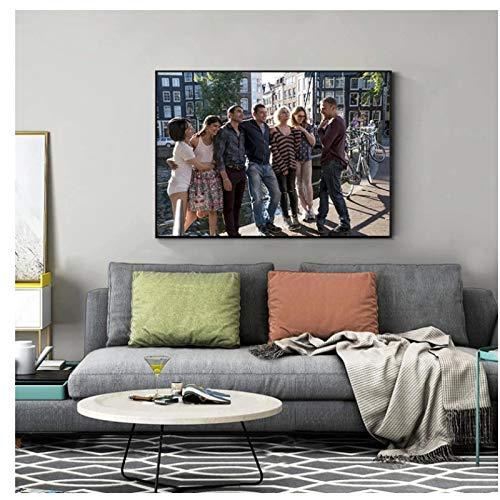 Vscdye The Sense8 Movie Poster Print Leinwandbilder Malen Home Decoration Wohnzimmer Wandkunst (60X90Cm) -24X36 In No Frame