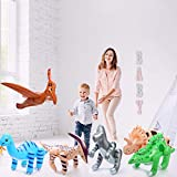 Fun Central - Jumbo 24' Blow Up Inflatable Dinosaurs Pool Party Supplies Toys for Kids Party Favors - 6 Pack