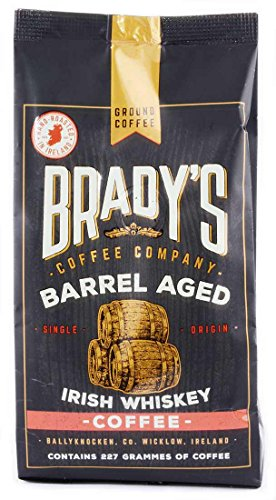 Brady's Barrel Aged Irish Whiskey Coffee, 227G