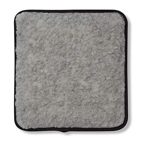 Hotties Microhottie Wärmflasche für die Mikrowelle, Lammwolle, Grau