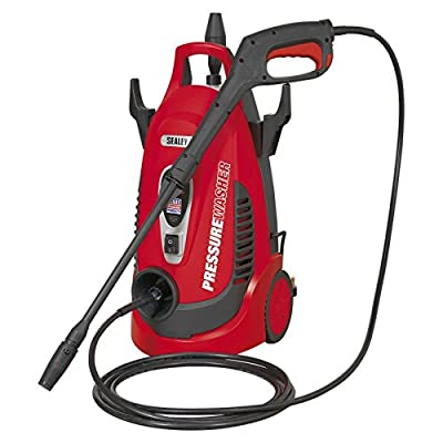 Sealey PW1750 Pressure Washer 120bar with TSS & Rotablast Nozzle 230V from Sealey