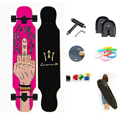 TYXTYX Dancing Longboard Skateboard 42 Pollici X 9.8 Pollici