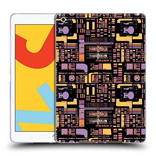 Head Case Designs Offizielle Star Trek LCARS Modelle TNG Soft Gel Huelle kompatibel mit iPad 10.2 (2019)