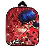 Nesloonp Zaino per bambini Ladybug, Ladybug Zaino, Zaino Scuola Elementare Zaino per Bambina Impermeabile
