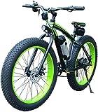 AINY Plus E-Bici, E-MTB, Bicicleta De Montaña E-48V 350W 10.4Ah - 26 Pulgadas Plegable Montaña Bicicleta Eléctrica Shift 21-Assisted Nivel