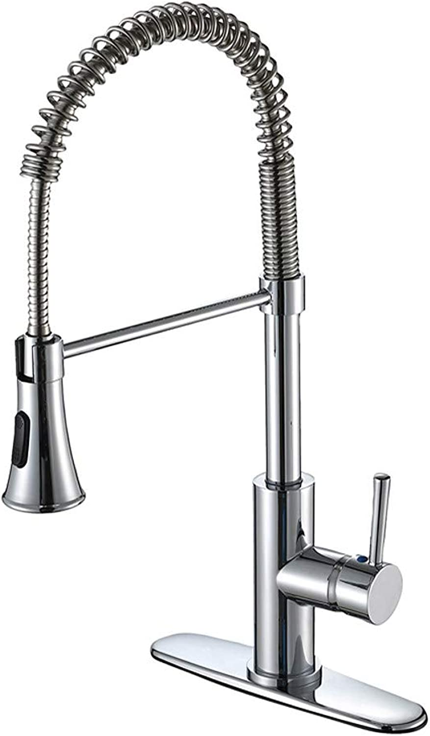 UKBF-Kitchen Faucet Chrome Deck Mounted Contemporary Classic Style Kitchen Taps Brass CUPC UPC Silver