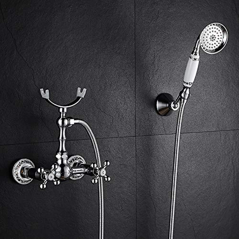JINSH Home Duschen Europische Duschkopf Wasserhahn Badezimmer Dusche Einfache Dusche Toilette Kupfer Handbrause