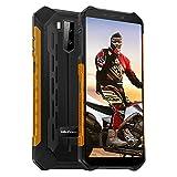 Móvil Libre Resistente, Ulefone Armor X5 Pro 4G Dual SIM Movil Antigolpes, 4GB RAM 64GB ROM, Android 10, Octa-Core, 13MP+5MP, 5.5'' HD+, Batería 5000 mAh, IP68 Impermeable Smartphone, NFC/OTG (Orange)