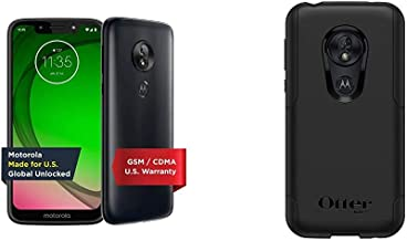 $152 » Moto G7 Play   Unlocked   Made for US by Motorola   2/32GB   13MP Camera   Blue & OtterBox Commuter LITE Series Case for M...