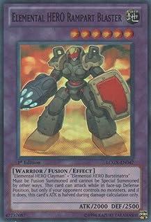 Yu-Gi-Oh! - Elemental Hero Rampart Blaster (LCGX-EN047) - Legendary Collection 2 - Unlimited Edition - Super Rare