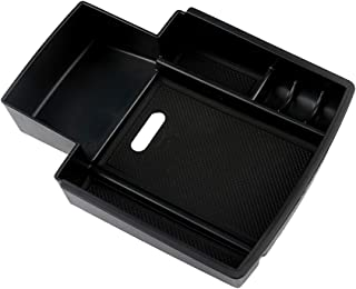 SXYSNX Armrest Glove Box Accessory Secondary Storage Case Fit for Audi A4 A5 S4 S5 Center Console Container