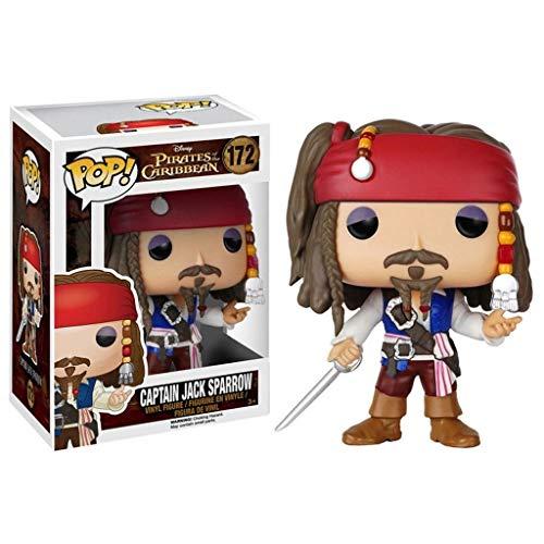 MMZ Funko Pirates of The Caribbean Figurine #172 Jack Sparrow Pop!Multicolor