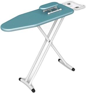 Ironing Boards CDingQ Support léger et moderne Blanc Longueur étendue 120 cm Table à repasser pliable pour chambre d'hôte...
